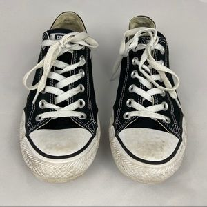 Classic Black Converse All Star Sneakers